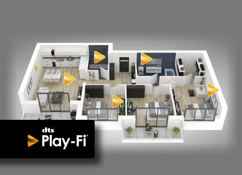 Ready for DTS Play-Fi® multi-room audio