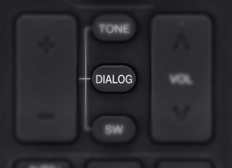 Dialog Enhancement