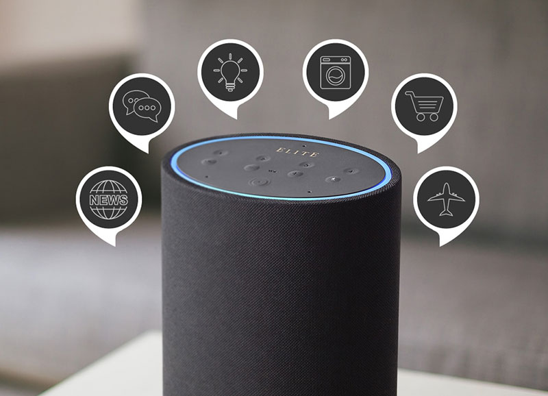 BUILT-IN MULTI-ZONE STREAMING AND VOICE CONTROL